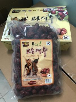 Táo khô đỏ Hàn - hộp 1 kg