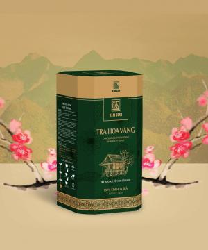 Trà Hoa Vàng Kim Sơn 80gr