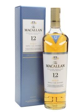 Macallan 12 Triple Cask 700 ml / 40%