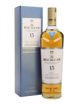 Macallan 15 Triple Cask 700ml 43% Vol