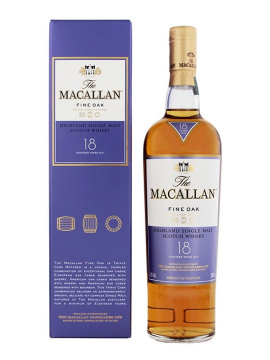 Rươụ Macallan 18 Fine Oak 700ml 43% Vol