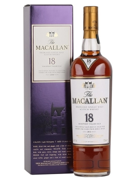 Rượu Macallan 18 Sherry Oak  700 ml / 43%