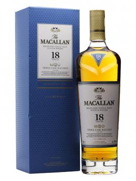 Rượu Macallan 18 Triple Cask 700 ml / 43%
