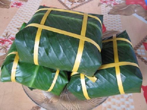 Bánh chưng Bờ Đậu - đặc sản Thái Nguyên