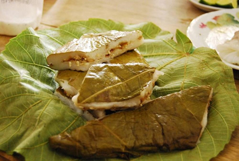 Bánh nếp nhân trứng kiến - đặc sản Tuyên Quang