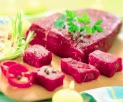 Thịt tái bò kiến đốt - Đặc sản vùng núi Tam Đảo