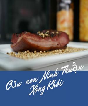 Thịt cừu non xông khói - Đặc sản Ninh Thuận