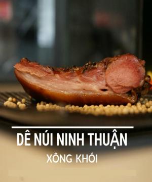 Thịt dê xông khói  - Đặc sản Ninh Thuận