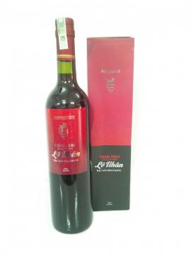 Rượu vang nho Lê Nhân - Đặc sản Phan Rang
