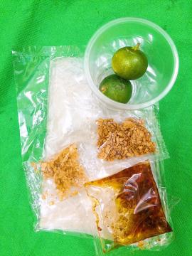 Bánh tráng sate tỏi tắc - Đặc sản Tây Ninh