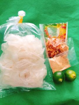 Bánh tráng dẻo muỗi nhuyễn hành phi - Tây Ninh