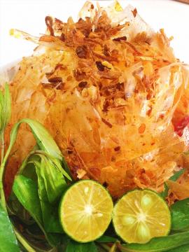 Bánh tráng trộn siêu cay- Tây Ninh