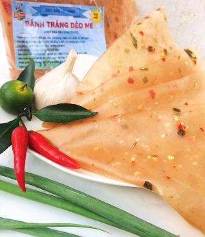 Bánh tráng dẻo me - Tây Ninh