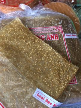Bánh tráng dẻo gừng mè - Tây Ninh