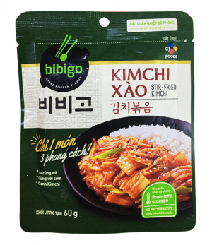 Kim chi xào BIBIGO 60gr / 200g